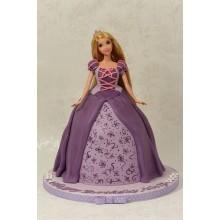 Торт кукла барби (3412)