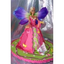 Торт кукла барби (3414)