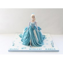 Торт кукла барби (3421)