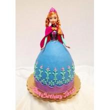 Торт кукла барби (3425)