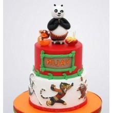 Торт кунг-фу панда (3427)