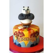 Торт кунг-фу панда (3428)