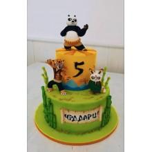 Торт кунг-фу панда (3429)