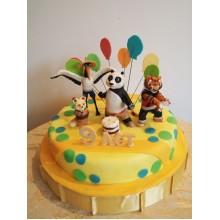 Торт кунг-фу панда (3430)