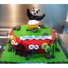 Торт кунг-фу панда (3431)