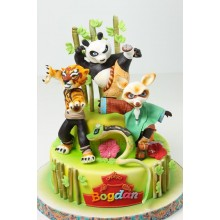 Торт кунг-фу панда (3432)