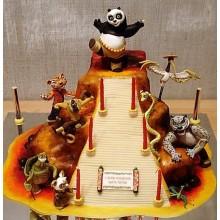 Торт кунг-фу панда (3434)