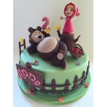 Торт Маша и медведь (3517)