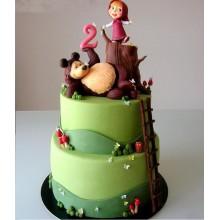 Торт Маша и медведь (3519)