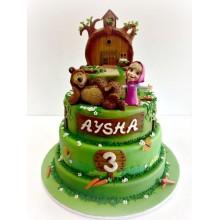 Торт Маша и медведь (3520)