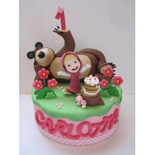Торт Маша и медведь (3521)