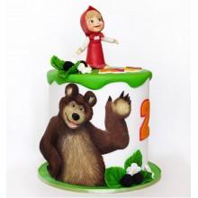 Торт Маша и медведь (3523)