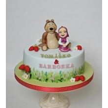 Торт Маша и медведь (3527)