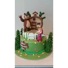Торт Маша и медведь (3528)