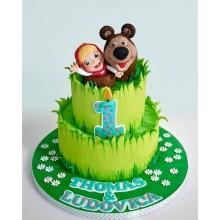 Торт Маша и медведь (3529)