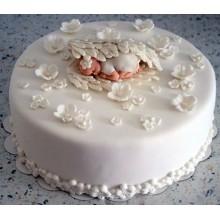 Торт на крестины (3535)