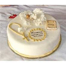 Торт на крестины (3536)