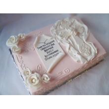 Торт на крестины (3543)