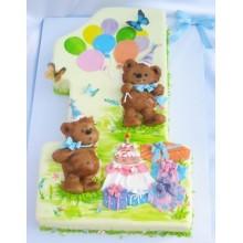 Торт на 1 годик (3568)
