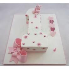 Торт на 1 годик (3575)