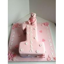 Торт на 1 годик (3576)