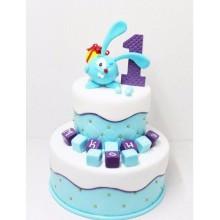 Торт на 1 годик (3585)