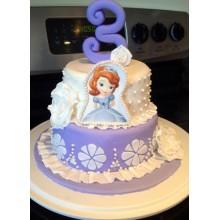 Торт принцесса София (3607)