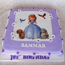 Торт принцесса София (3608)