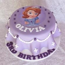 Торт принцесса София (3609)