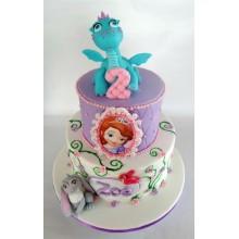 Торт принцесса София (3610)