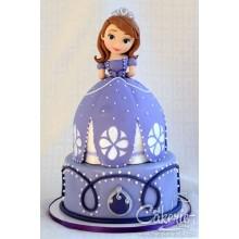 Торт принцесса София (3612)