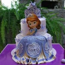 Торт принцесса София (3614)