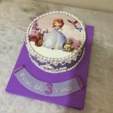 Торт принцесса София (3616)