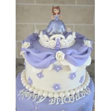 Торт принцесса София (3617)