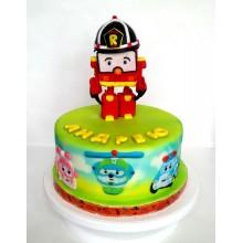 Торт Робокары (3639)