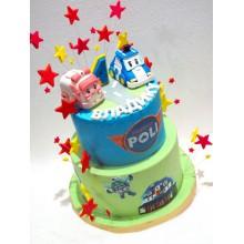 Торт Робокары (3640)