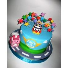Торт Робокары (3643)