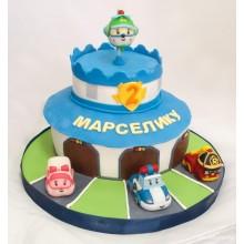 Торт Робокары (3651)