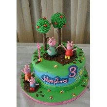 Торт свинка Пеппа (3666)