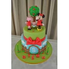 Торт свинка Пеппа (3669)