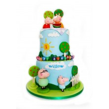 Торт свинка Пеппа (3672)
