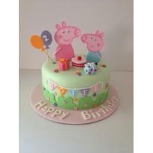 Торт свинка Пеппа (3673)