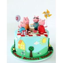Торт свинка Пеппа (3674)