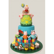 Торт свинка Пеппа (3675)