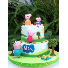 Торт свинка Пеппа (3677)