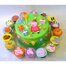Торт свинка Пеппа (3679)