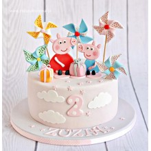 Торт свинка Пеппа (3680)
