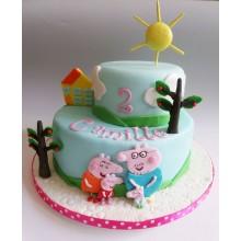 Торт свинка Пеппа (3681)