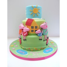 Торт свинка Пеппа (3682)