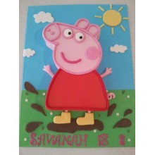 Торт свинка Пеппа (3684)